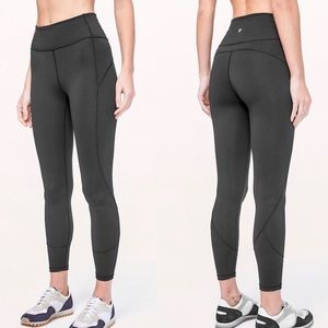 NWT Lululemon | Black In Movement 7/8th Length